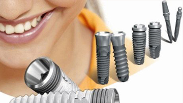 Зубные импланты из циркония